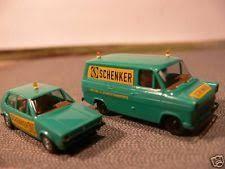 eBay 1/87 Brekina 90405 2er Set Schenker Schwertransport-Beg