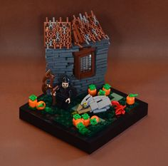 LEGO scenes from Harry Potter and the Prisoner of Azkaban Harry Potter Groups, Harry Potter Wizard, Lego Craft, Prisoner Of Azkaban, Lego Worlds, Cool Lego Creations, Lego Projects, Lego Brick, Lego City