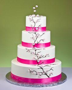 Pretty cherry blossom cake ~Season 4 episode 12