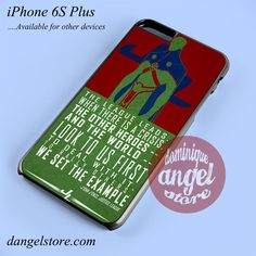 J'onn Martian Phone case for iPhone 6S Plus and another iPhone devices