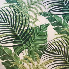 Banana leaf pattern palm patten