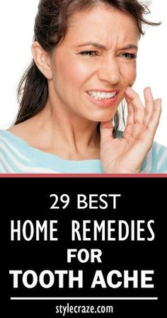 There are many tooth ache home remedies that make use of common ingredients found in most homes. You can use these ingredients to get relief from the debilitating tooth pain you are experiencing. Tooth Pain Relief, Remedies For Tooth Ache, Receding Gums, Oral Health, Teeth Health, Health Tips, Health Care, Wisdom Teeth