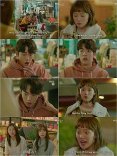 lol he looks so scared haaha loved that scene! Weightlifting Fairy Kim Bok Joo Funny, Weightlifting Kim Bok Joo, Korean Drama Funny, Korean Drama Quotes, Kpop, Weighlifting Fairy Kim Bok Joo, Kim Book, Best Kdrama, W Two Worlds
