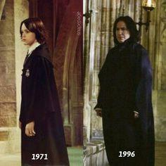 Severus Snape from child to tragic hero
