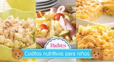 5 recetas de coditos nutritivos para niños