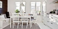 Un appartement en blanc intemporel (via Bloglovin.com )