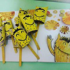 Ruimtelijk knutselen: Thema het kleurenmonster Baby Art Activities, Spanish Activities, Abc Preschool, Emotion, Les Sentiments, Some Ideas, Monster, Read Aloud, Diy And Crafts