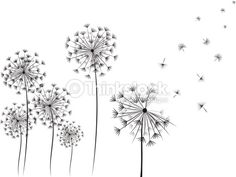 Image result for dandelion tattoo pinterest photos - Vorlage vogel ...
