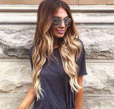 awesome Омбре для русых волос (50 фото) — Модное окрашивание 2017