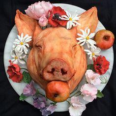 Food Sculptor Makes Disgustingly Delicious Treats