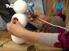 Cómo hacer un Muñeco de Nieve (11-11-2011) Dyi Crafts, Arts And Crafts, All Things Christmas, Holiday Decor, Kids, Youtube, Snow, Ideas For Christmas, Fabric Dolls