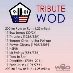 9/11 Tribute WOD