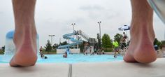 1000 images about my birthplace bluffton ohio on pinterest ohio local news and number one for Local swimming pools with slides