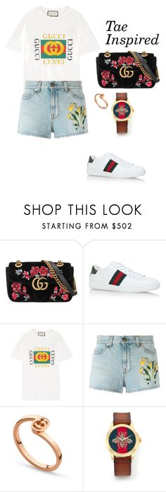 """BTS INSPIRED OUTFITS"" by btsmyhearteu on Polyvore featuring Gucci"