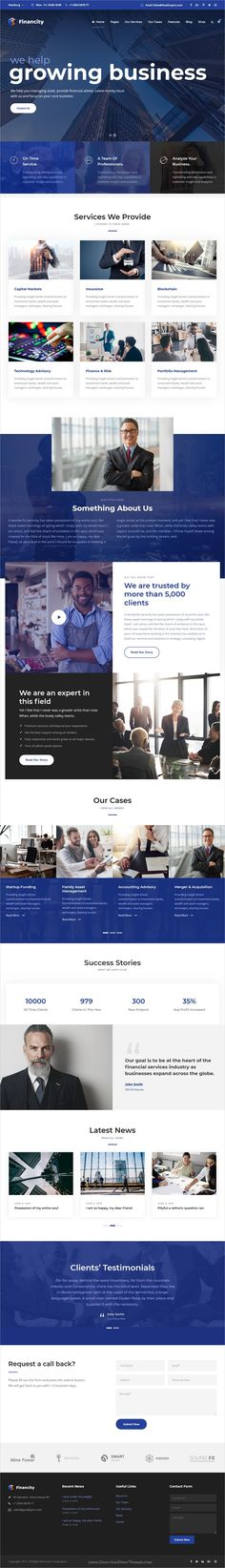 Financity is clean and modern design 3in1 responsive #WordPress theme for financial #business and professional services #website download now..