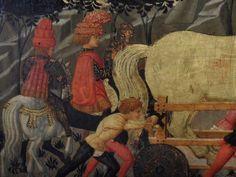 Le CHEVAL DE TROIE - Scheggia- vers 1460-1465. (détail)- E.CL.7503.