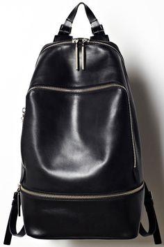 3.1 Phillip Lim zip around leather backpack