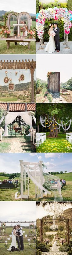 25 Beautiful Summer Wedding Altar Ideas - Creative Designs