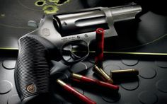 All About Weapons Guns Shotguns: Taurus Judge The revolver that put Taurus on the map in terms of. Weapons Guns, Guns And Ammo, Taurus Judge, Home Protection, Fire Powers, Gun Rights, Home Defense, Firearms, Shotguns