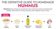 13 Different Ways to Make Hummus