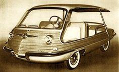 1956 FIAT 600 MULTIPLA SPIAGGETTA - design by Giovanni Michelotti, coachwork by Carrozzeria Alfredo Vignale