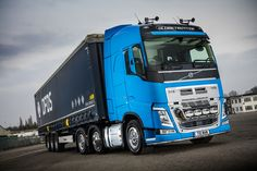 First new truck for Coventry owner driver Bill Wheatley is a Volvo