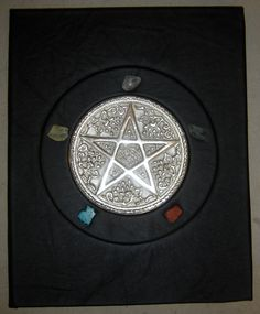"""Elemental Pentagram"" Book of Shadows"