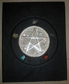 """""""Elemental Pentagram"""" Book of Shadows"""