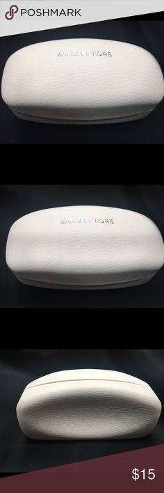 5b62dcfee80d50 Shop Women's Michael Kors White size OS Travel Bags at a discounted price  at Poshmark. A spare case for your glasses.