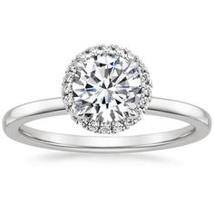 18K White Gold Vienna Diamond Ring from Brilliant Earth