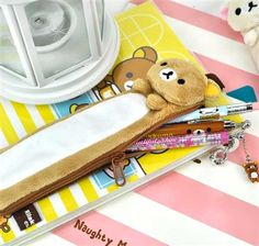 Rilakkuma Notebook Pen Jackets