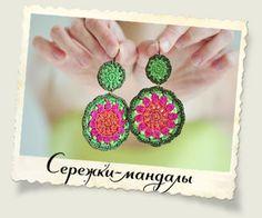 Beaded earrings tutorial by Minchanka. In Russian with chart. Would make a nice keyfob.