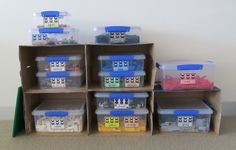 I've been looking for a great way to organize. This just might work!  Lego Organization Labels www.boymamateachermama.com