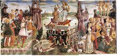 Francesco del Cossa - Triumph of Venus - Palazzo Schifanoia
