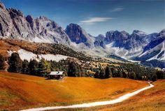 Dolomites, Montagnes, Italie
