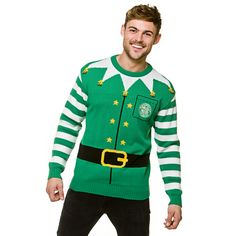 a04c9b180 Celtic Christmas Elf Jumper Green. Only £28 from celticsuperstore.co.uk.  Buy online in time for your Christmas Party.