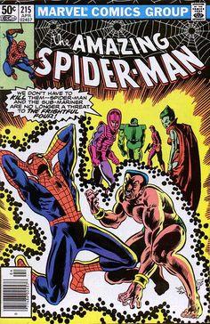 The Amazing Spider-Man (Vol. 1) 215 (1981/04)