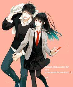 Anime Couples Drawings, Anime Couples Manga, Anime Guys, Manga Anime, Hipster Drawings, Couple Drawings, Easy Drawings, Pencil Drawings, Anime Siblings