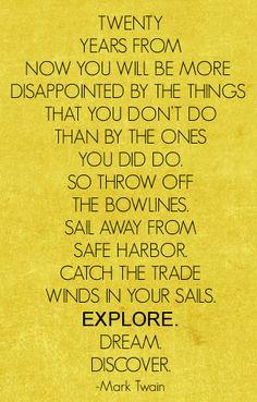 Explore quote