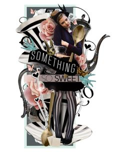 """Something So Sweet"" by mew-muse ❤ liked on Polyvore featuring art"