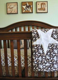 cute cowboy bedding