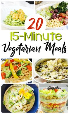 52 best exercise and fitness on a budget images on pinterest money 20 quick delicious vegetarian meals fandeluxe Gallery