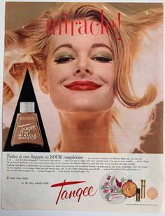 Vintage Glamour Vintage Magazine Ad Tangee cosmetics   Etsy