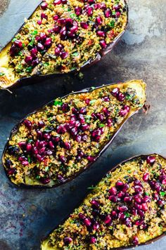 What's super nutritious, pretty, versatile, and just right for holiday side dishes? Eggplant!