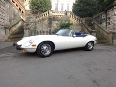 1973 Jaguar E-Type 5.3 V12 Roadster Auto White | eBay