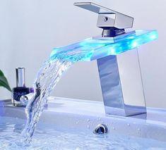LED Temperature Color Changing Faucet