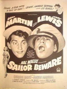 Movie Sailor Beware Dean Martin Jerry Lewis (1952)