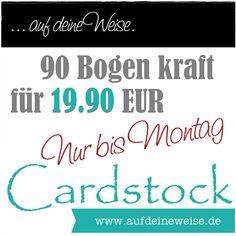 aufdeineweise.de – Shop: • Kleine Erinnerung  12x12 | Cardstock Kraft 90/PK für 19.90 €. Das Angebot ist nur bis morgen verfügbar. Jetzt zugreifen! • Link: http://www.aufdeineweise.com/12x12-Cardstock-Kraft-90PK #nurbismontag #scrapbooking #shopaufdeineweise #aufdeineweise