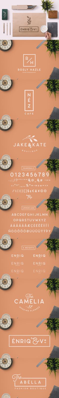 Enriq Round Sans (All Caps Version) is an Elegant Sans serif typeface with smooth rounded edge style, Fashionable, Classy but still Modern. Elegant Fonts, Sans Serif Typeface, Glyphs, Editorial Design, Ninja, Photoshop, Graphic Design, Style, Classy Fonts