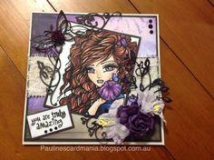 Pauline's Card Mania: FIRST TIME HANNAH LYN.